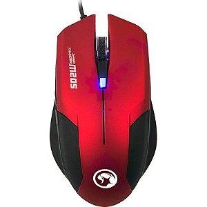 Mouse Gamer Sensor de Alta Performance Marvo Scorpion M205 RD 800/1600 DPI RED