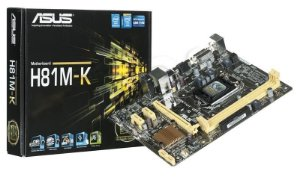 Placa Mãe Asus H81M-K 1150P DDR3