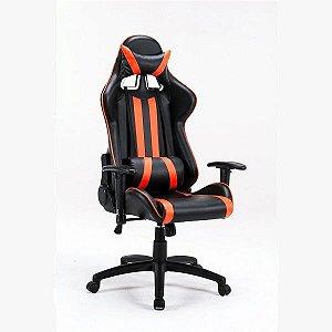 Cadeira Gamer Profissional Preta/Laranja Bluecase