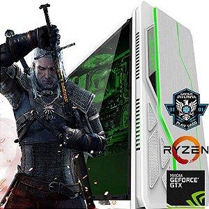 Computador Z-Gamer AMD Ryzen 1200 Quad Core 3.1Ghz + 8GB DDR4 + HD 1TB + Nvidia Geforce GTX 1060 3GB DDR5 192 Bits