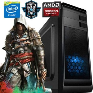 Computador Gamer Intervia Andromeda Intel Core i5 3.10 Ghz + 8GB DDR3 + HD 1TB + Ati Radeon RX 560 4GB DDR5