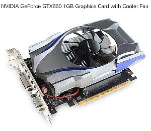 Placa de Vídeo Nvidia Geforce GTX 650 1GB DDR5 128 Bits