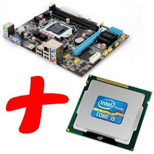 Kit Processador Core i5 3.10 Ghz 6M + Motherboard H61
