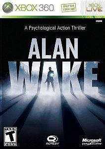 Alan Wake - Xbox 360 Midia fisica Novo Lacrado