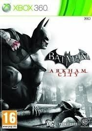 Batman Arkham City - Xbox 360, Midia fisica Usado