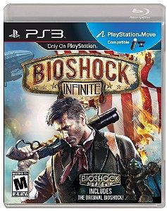 Bioshock Infinite - PS3 Mídia Física Usado