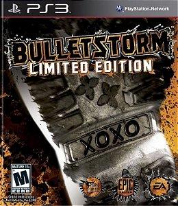 Bulletstorm Limited Edition - PS3 Mídia Física Usado
