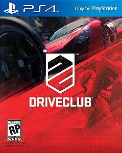 DriveClub - PS4 Mídia Física Novo Lacrado