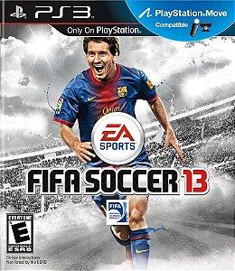 Fifa Soccer 13 - Ps3 Mídia Física Novo Lacrado