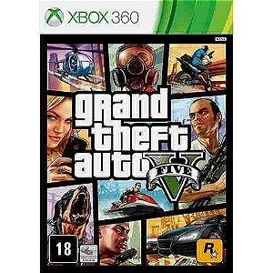 Gta 5 Grand Theft Auto V - Xbox 360 Mídia Física Usado