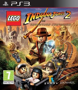 Lego Indiana Jones 2 - PS3 Mídia Física Novo Lacrado