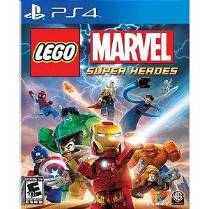 Lego Marvel Super Heroes - PS4 Mídia Física Novo Lacrado