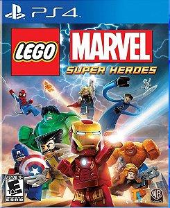 Lego Marvel Super Heroes - PS4 Mídia Física Usado