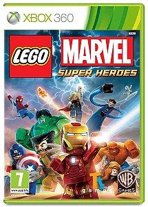 Lego Marvel Super Heroes - Xbox 360 Mídia Física Novo Lacrado