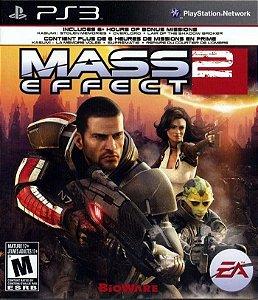 Mass Effect 2 - Ps3 Mídia Física Usado