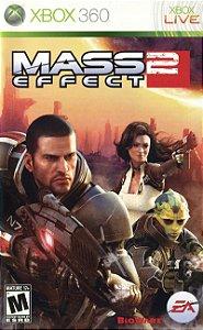 Mass Effect 2 Xbox 360 Mídia Física Usado