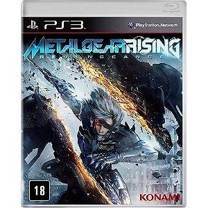 Metal Gear Rising Revengeance - Ps3 Mídia Física Novo Lacrado