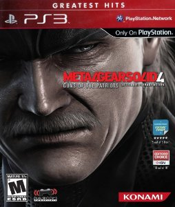 Metal Gear Solid 4 - Ps3 Mídia Física Usado