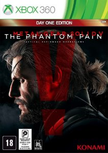 Metal Gear Solid The Phantom Pain - Xbox 360 Novo Lacrado