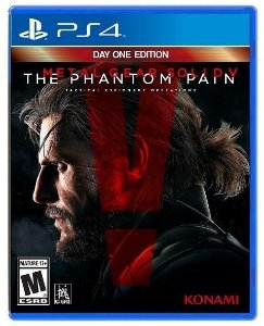 Metal Gear Solid V The Phantom Pain - PS4 Mídia Física Usado