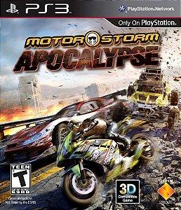 Motor Storm Apocalypse - Ps3 Mídia Física Usado