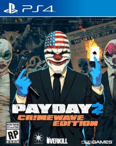 Payday 2 Crimewave Edition Ps4 Mídia Física Novo Lacrado