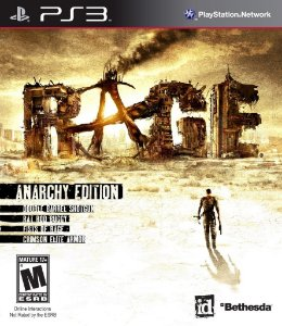 Rage Anarchy Edition - Ps3 Mídia Física Usado