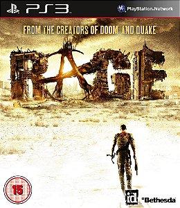 Rage - Ps3 Mídia Física Usado