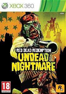 Red Dead Redemption Undead Nightmare - Xbox 360 Mídia Física Usado