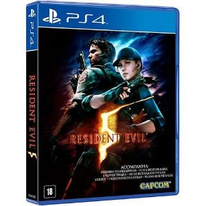 Resident Evil 5 - PS4 Mídia Física Usado