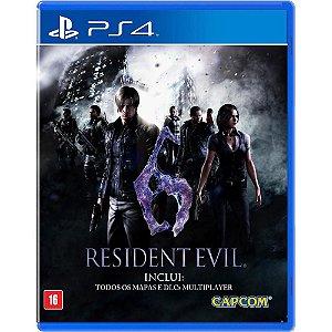 Resident Evil 6 - PS4 Mídia Física Usado