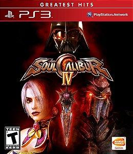 Soul Calibur IV - PS3 Mídia Física Usado