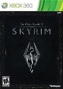 The Elder Scrolls V Skyrim Xbox 360 Mídia Física Usado