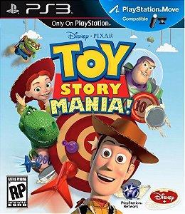 Toy Story Mania - PS3 Mídia Física Novo Lacrado