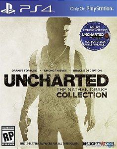 Uncharted Collection PS4 - Mídia Física - Usado