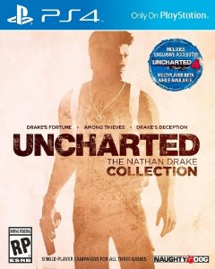 Uncharted The Nathan Drake Collection Ps4 Mídia Física Novo