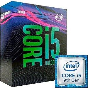 Processador Intel Core i5-9400F, 2.9GHz (4.1GHz Max Turbo), Cache 9MB, LGA 1151 9º Geração - BX80684I59400F