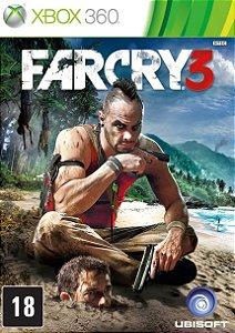 Far Cry 3 - Xbox 360 Mídia Física Usado