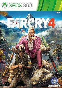 Far Cry 4 - Xbox 360 Mídia Física Usado