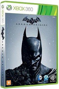 Batman Arkham Origins - Mídia Física Xbox 360 Usado