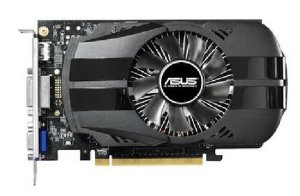 Placa de Vídeo Asus Nvidia Geforce GTX 750 1GB DDR5 128 Bits ( Semi - Nova )