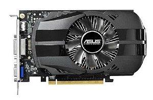 Placa de Vídeo Asus Nvidia Geforce GTX 750 1GB DDR5 128 Bits ( Semi - Nova )
