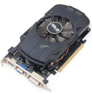 Placa de Vídeo Asus Nvidia Geforce GTX 650 1GB DDR5 128 Bits ( Semi - Nova )
