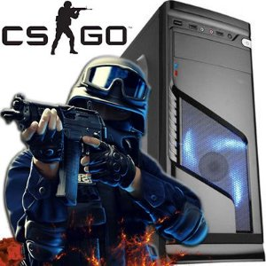 Computador Gamer Hybrid-Z Core i5 3.10 ghz + 8Gb DDR3 + HD 1TB + Nvidia Gtx 750 2GB Semi Novo