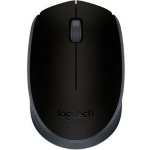 Mouse Logitech Wireless M170 Preto