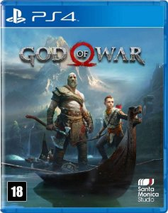 God of War 4 PS4 Novo Lacrado