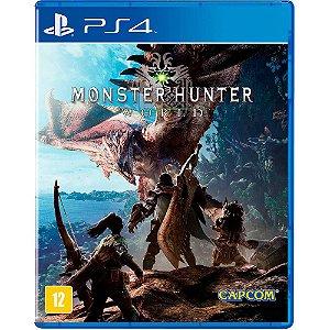 Monter Hunter World PS4 Novo Lacrado