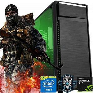 Computador Raptor Core i3 8100 3.6Ghz 8ª Geração + 8GB DDR4 + HD 1TB + GTX 1050 2GB DDR5 + Gabinete