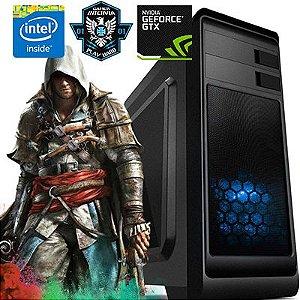 Computador Combat Core i5 8400 2.80 Ghz 8ª Geração + 8GB DDR4 + HD 1TB + GTX 1050TI 4GB DDR5 + Gabinete