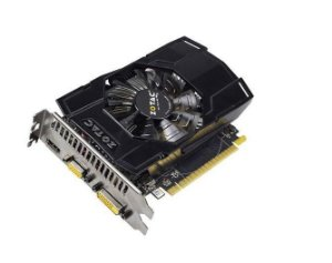 Placa de Vídeo Zotac Nvidia Geforce GTX 750 1GB DDR5 128 Bits ( Semi - Nova )